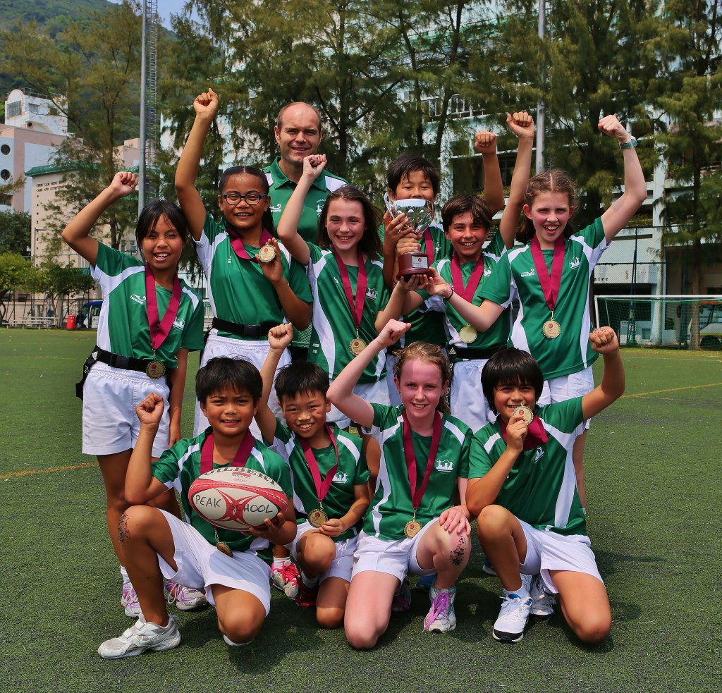 Tag Rugby Championship Team 2014